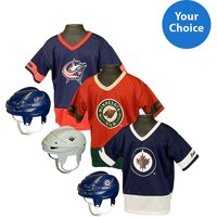 Franklin Sports NHL Kid's Team Set - Choose Your Central/Metropolitan League Team