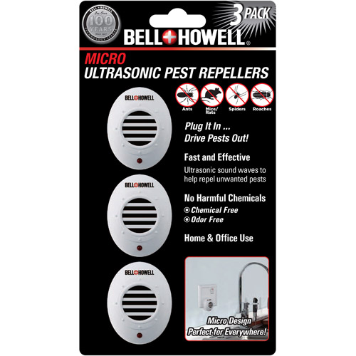 Bell & Howell 3-Pack Mini Pest Repellers