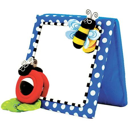 Sassy Crib and Floor Mirror (Baby Crib And Floor Mirror)
