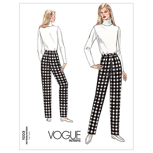 Vogue Pattern Misses' Fitting Shell, (22)