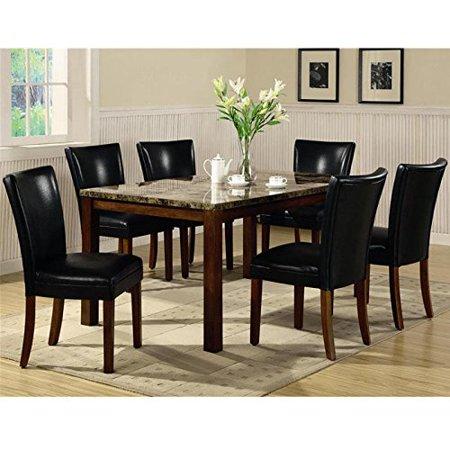 DINING TABLE, WM BRWN, 6;4.00 X 38.00 X 31.00