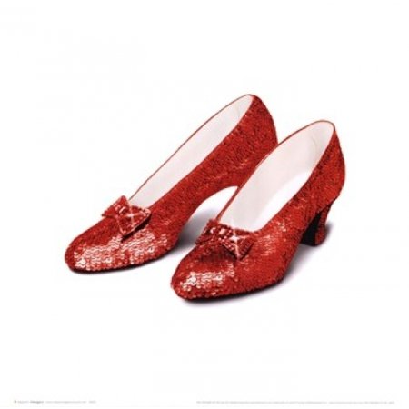 417d13997c1 Wizard of Oz - Ruby Slippers Poster Print (16 x 16) - Walmart.com