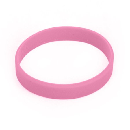 Gogo Whole Rubber Bracelets For Kids Silicone Wrist Bands Events Party Favors Pink 480 Pcs