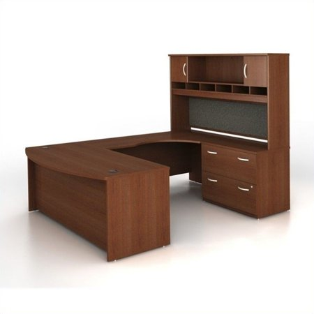 Series U-shape Computer - Bush Business Series C 4-Piece U-Shape Right-Hand Computer Desk
