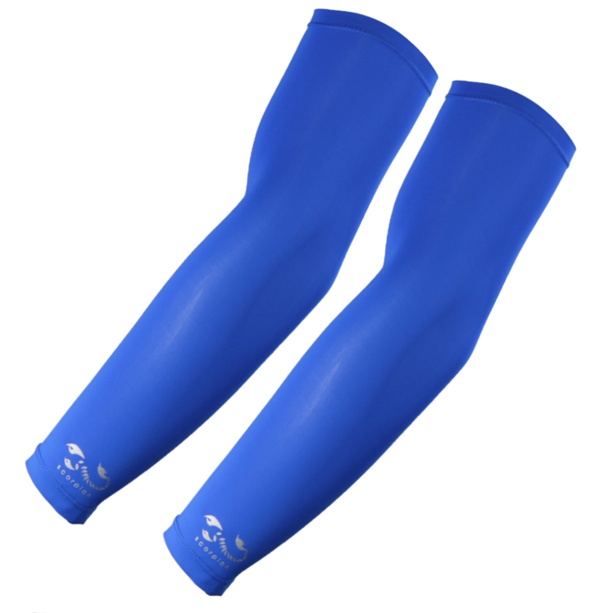 The Elixir Scorpion Hunting UV Protective Arm Sleeves Arm Compression Cover Cooler, Blue