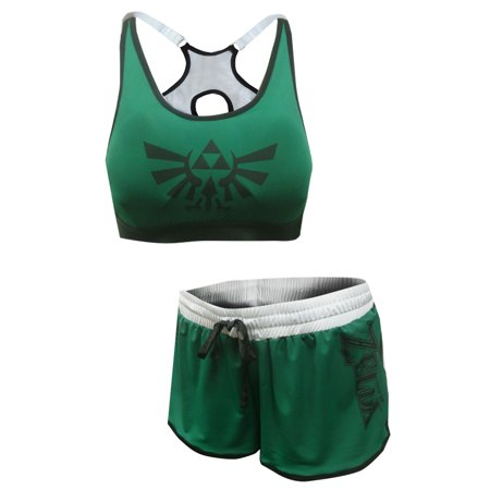 e7fd24282ae34 Zelda - The Legend Of Zelda Bra and Boxer Pajama Set - Walmart.com