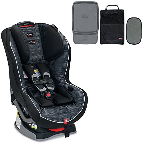 Britax Boulevard G4.1 Convertible Car Seat & Accessory Pack Bundle, Domino