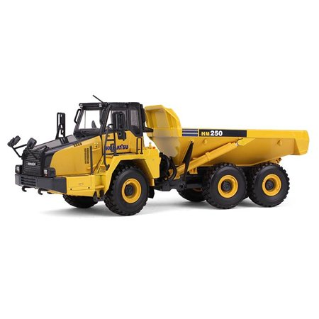 Komatsu HM250 Articulated Dump Truck 1/50 Diecast Model Car by First (Was The Model T The First Car)