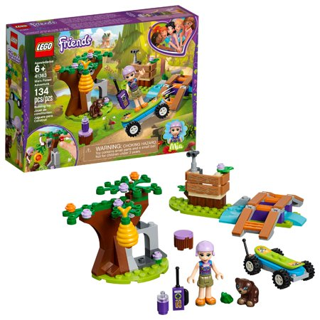 LEGO Friends Mia's Forest Adventure 41363 Building Set