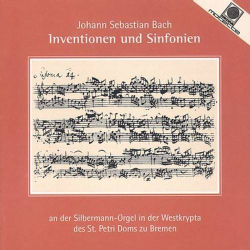 INVENTIONS & SINFONIAS FOR ORGAN