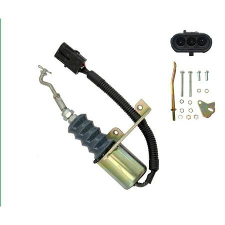 - Fuel Shutdown Solenoid Valve SA-3799-12 Bosch RSV 12V Solenoid Right Mounted