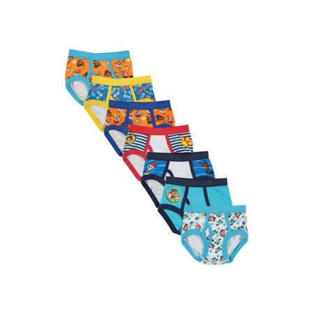 Nickelodeon Paw Patrol Toddler Boys Brief Underwear, 7-Pack