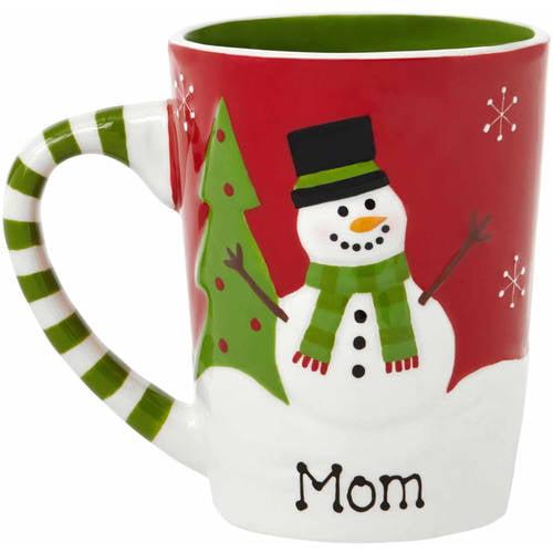 Personalized Snowman 15oz Coffee Mug