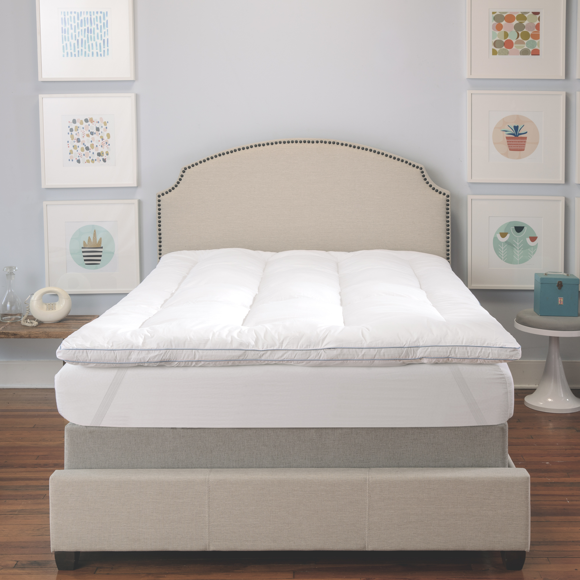 Biopedic Memory Plus Deluxe Foam And Fiber Queen