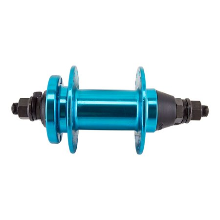 SE Bikes Om Duro Bicycle Hub - Front, 36 x 110 x 3/8 - Anodized Blue - KT-K88F
