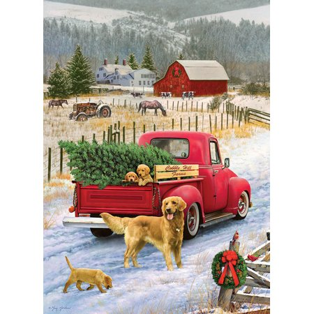 Red Truck Farm Tray Puzzle (35 piece) (Tray Truck)