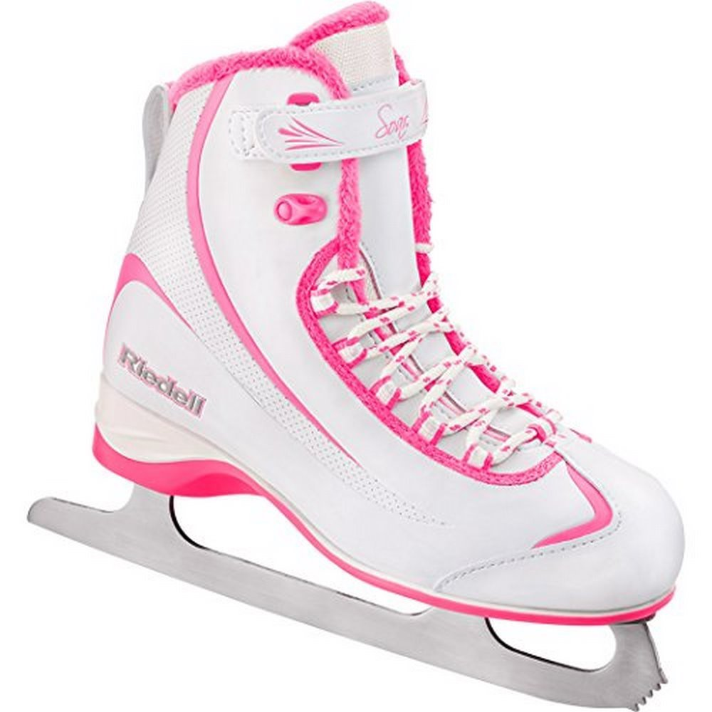 Riedell 615 2015 Model Figure Skates Soar (White Pink) by RIEDELL