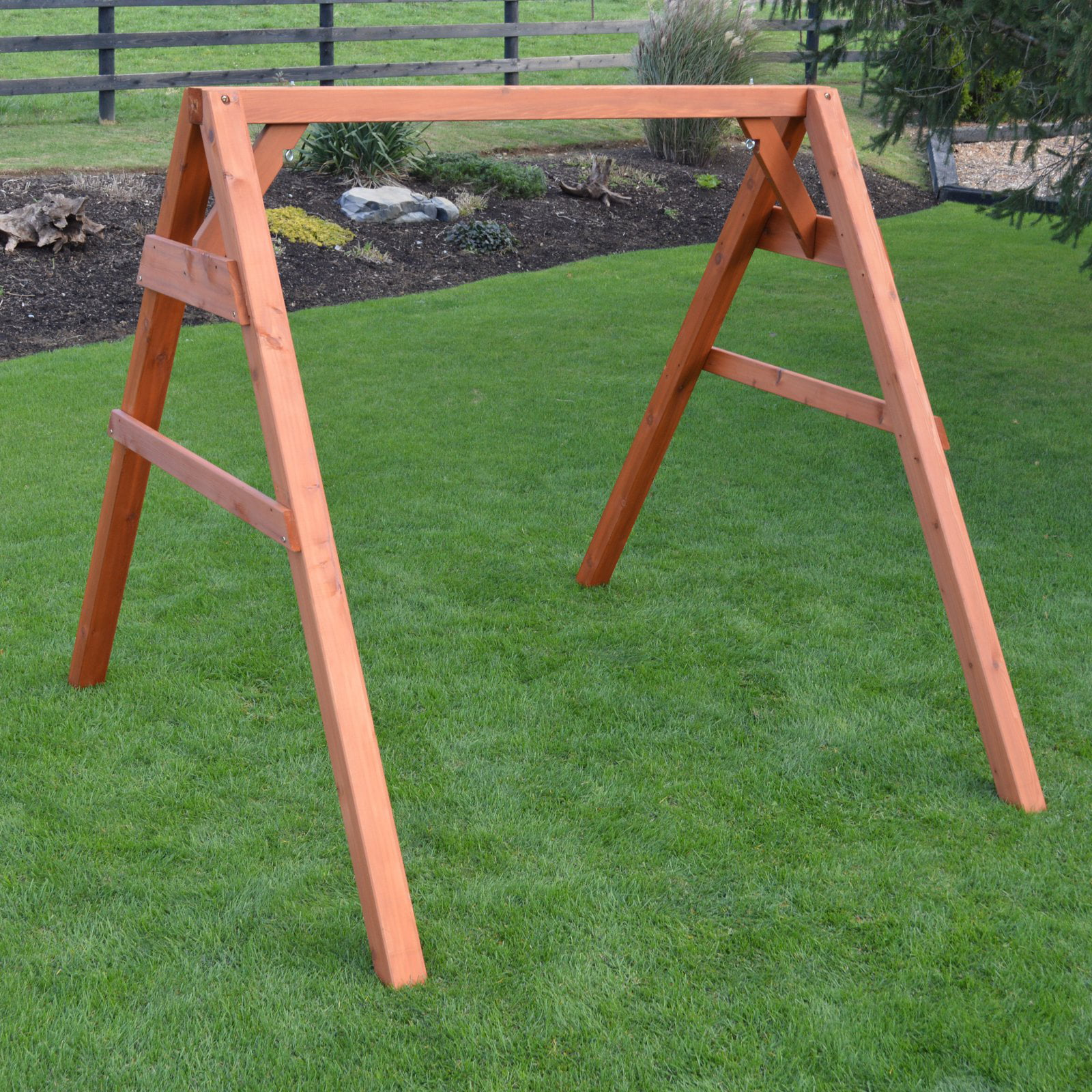 A Amp L Furniture A Frame Wood Swing Stand For Swing Or Swingbed Walmart Com Walmart Com