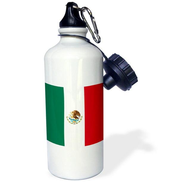 3dRose Water Bottle White 21oz