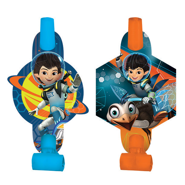 Miles from Tomorrowland Blowouts (8 Pack) - Party Supplies