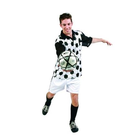 Soccer Player Costume - Size Adult Standard