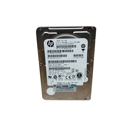 - Refurbished Toshiba HP MK1401GRRB  147GB 2.5