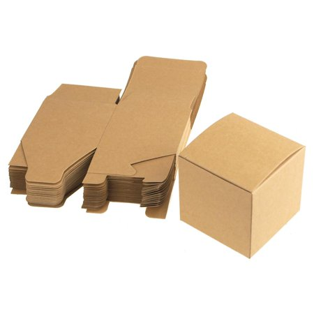 - Cube Paper Gift Boxes, 3-Inch, 24-Piece, Natural