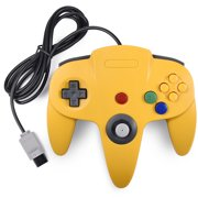 N64 Controller,INNEXT Gaming Classic Controller for Retro N64 System Home Video Game Console with Joystick Double Sided Colored Joypad Replacement,Game Gaming Controller for N64 System Console