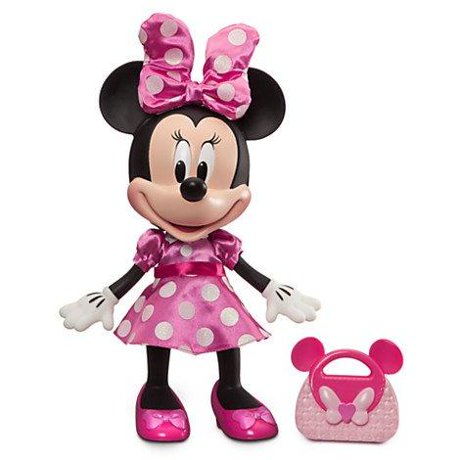 Disney Minnie Mouse Talking Fashion Toddler Doll 13 Tall