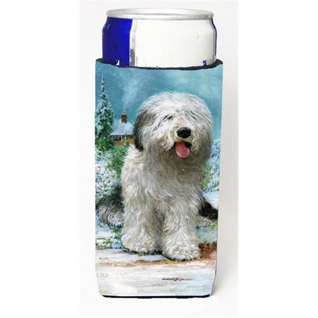 Old English Sheepdog by Don Squires Michelob Ultra Can coolers for Slim Cans - image 1 of 1