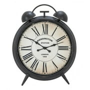 A Nation 20254 Metal Wood Wall Clock, 40 x 50 in.