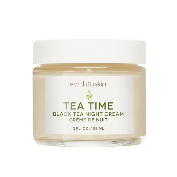Earth to Skin Tea Time Anti Aging Night Cream, 2 oz