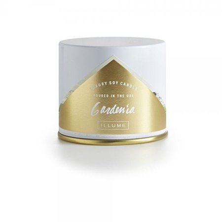 Illume - Luxury Soy Candle Gardenia Vanity Tin