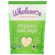 Wholesome! Organic Cane Sugar, Evaporated Cane Juice, 16 Oz