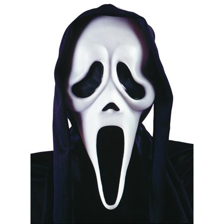 Scream Halloween Mask - Printable Halloween Masks For Colouring