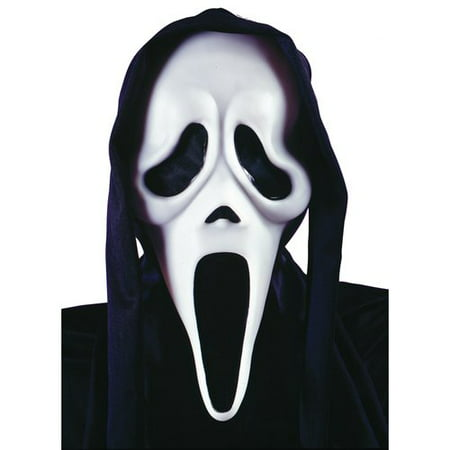 Scream Halloween Mask - Black Halloween Mask Runescape 07