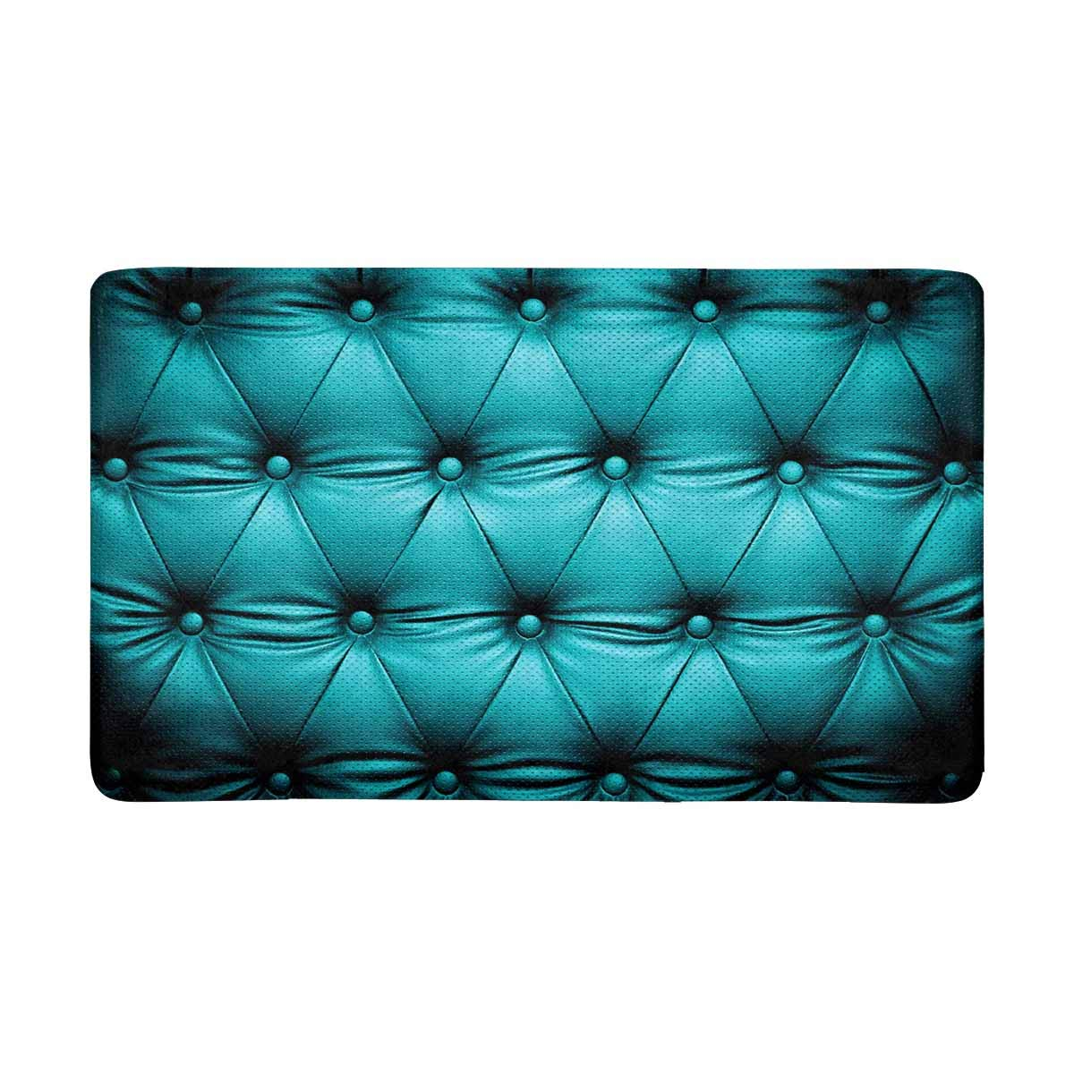 Rug With Turquoise Sofa: MKHERT Funny Blue Turquoise Buttoned Couch Sofa Bed