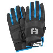 HART Performance Fit Work Gloves, 5-Finger Touchscreen Capable, Medium