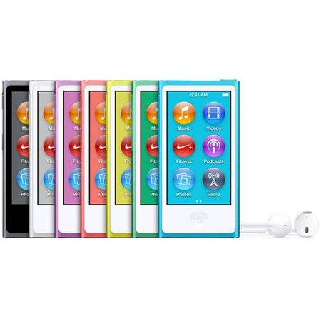 Apple iPod nano 16GB - Walmart.com