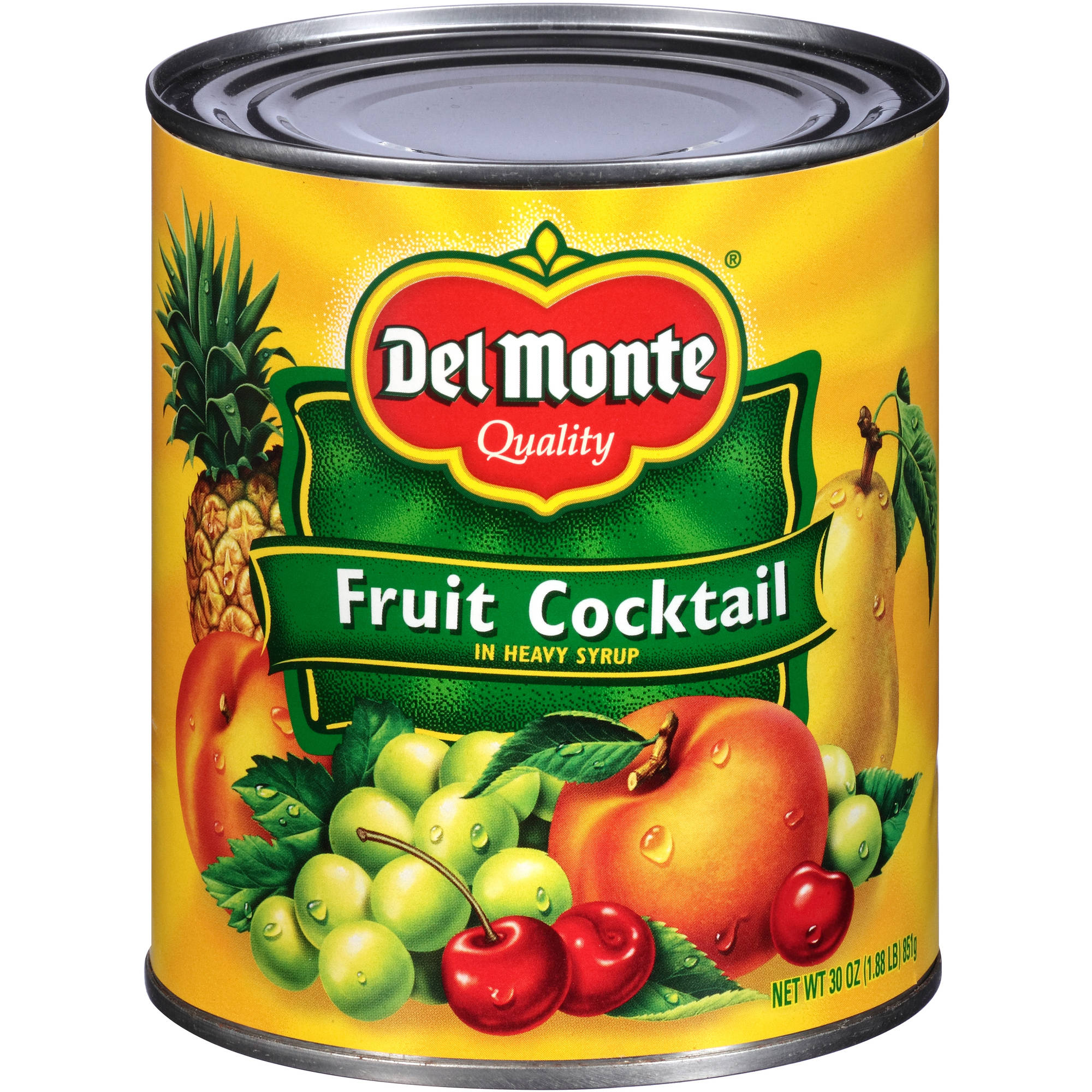 Del Monte In Heavy Syrup Fruit Cocktail, 30 oz