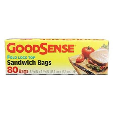 Product Of Good Sense, Sandwich Bags Fold Top, Count 1 - Zip Lock/Sandwich/Lunch Bags / Grab Varieties & - Grab Bag Ideas For Adults