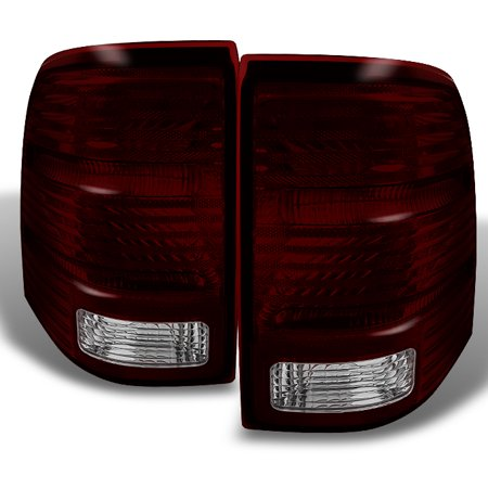 Fit 2002 2003 2004 2005 Ford Explorer Dark Red Taillights Brake Lamp Replacement (Ford Explorer Tail Light Replacement)