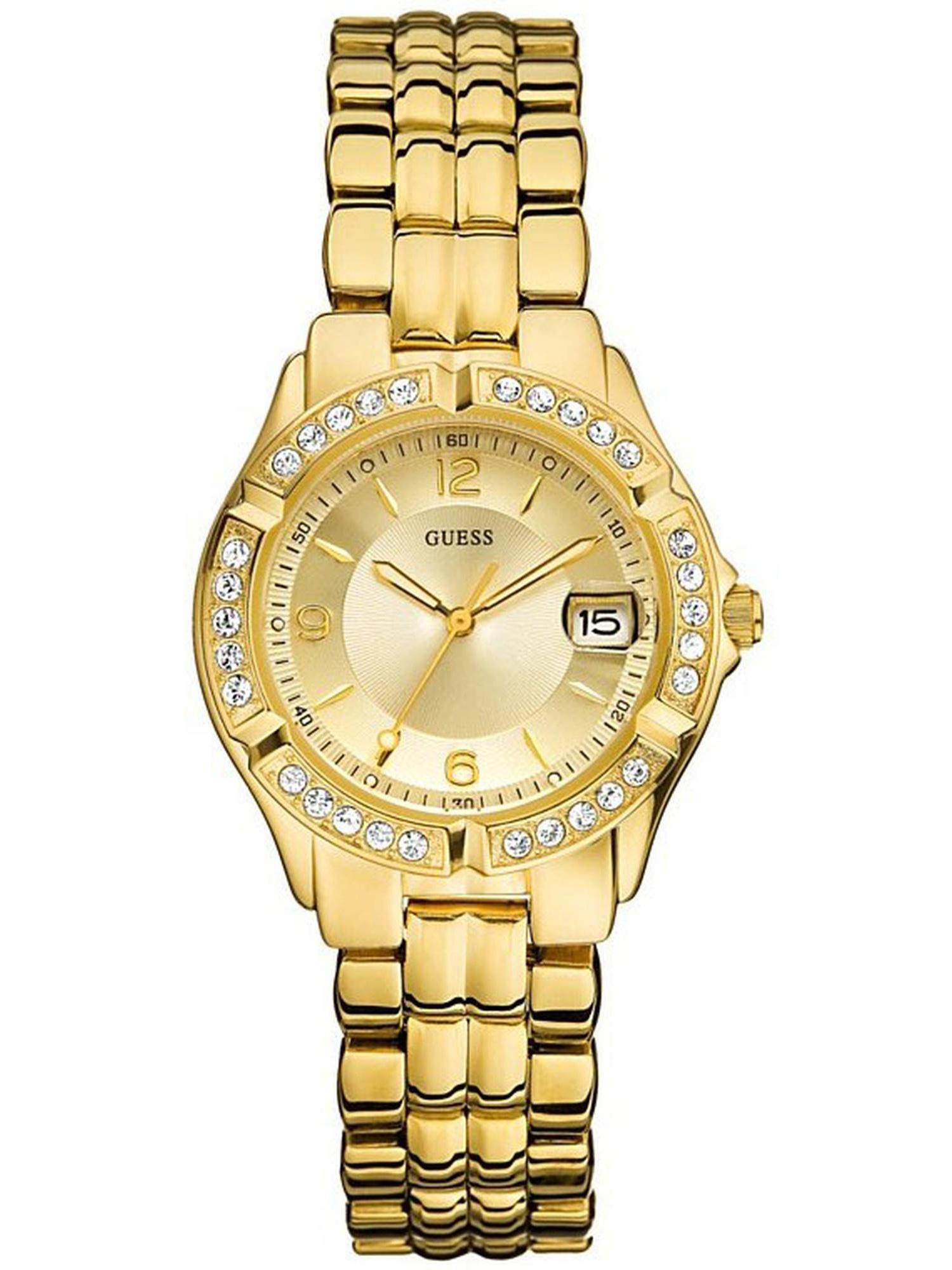 Goldtone Mixed Metal Ladies Watch U85110L1