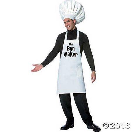 The Bun Maker Costume (ADULT The Bun Maker Chef)
