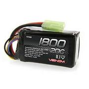 Venom 20C 3S 1800mAh 11.1V LiPO Battery Mini Tamiya Plug Parrot AR Drone 2.0 1.0