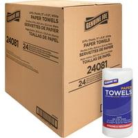 Genuine Joe, GJO24081, 2-ply Household Roll Paper Towels, 24 / Carton, White