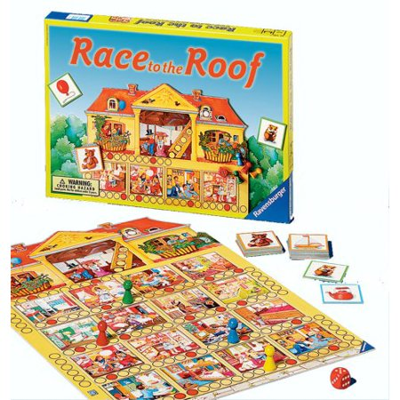 - Ravensburger Race to the Roof - Children's Game