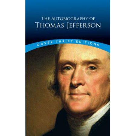 The Autobiography of Thomas Jefferson (Thomas Jefferson Halloween)