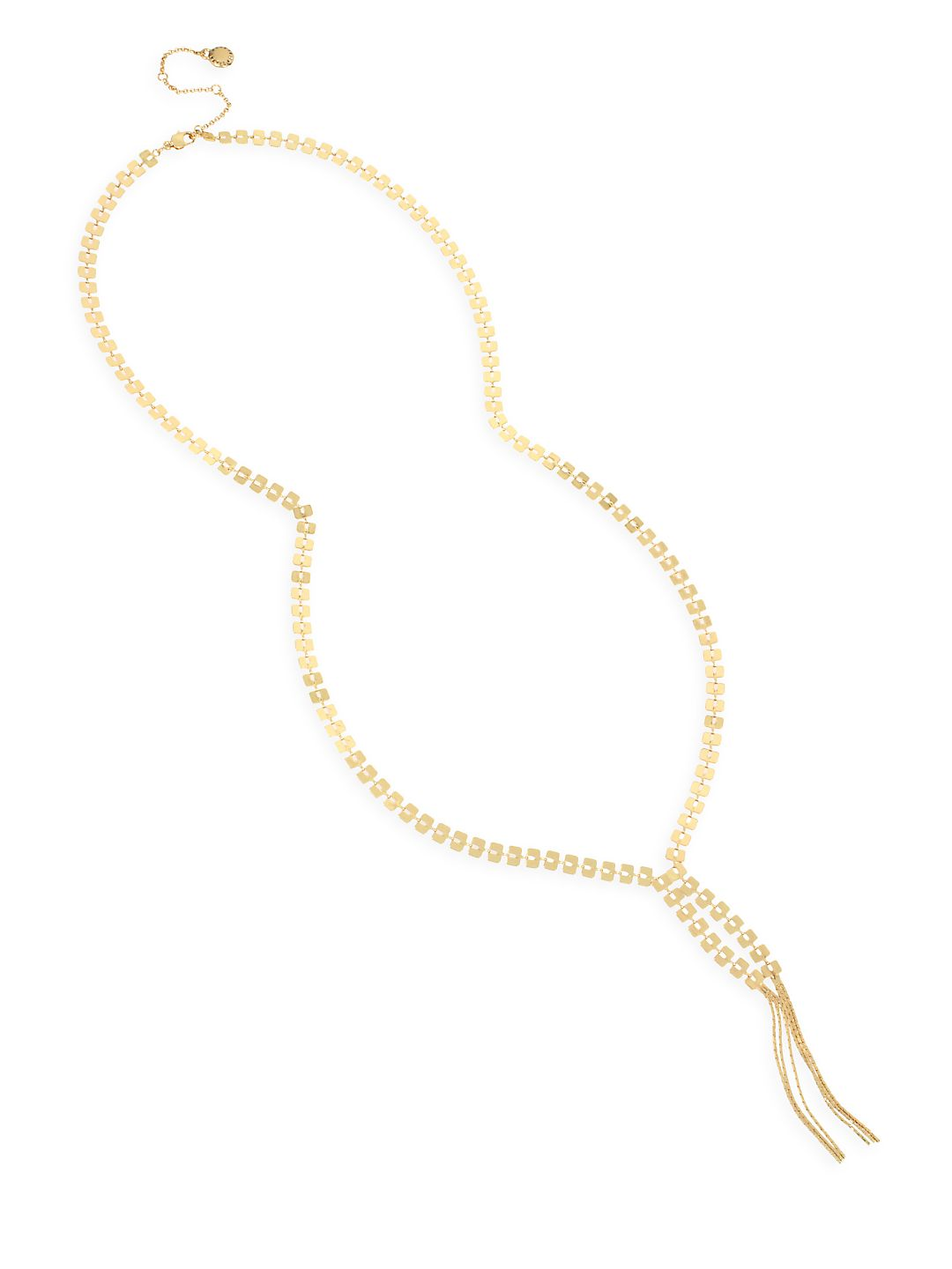 Future Femme Geometric Chain Y-Necklace