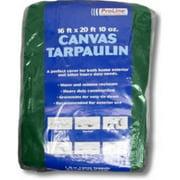Intex Supply K-CT0608G 10 oz. Green Canvas Tarp - 6 x 8 in.